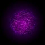 Cyberpunten cloud2-01 stock illustratie