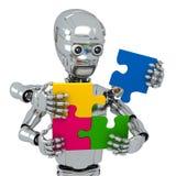 Cyberpuzzles Stock Image