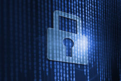 Cybersäkerhet Vektor Illustrationer