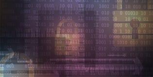 Cybersecurity e proteção da informação ou da rede Tecnologia futura Foto de Stock