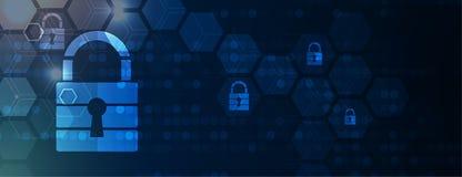 Cybersecurity et protection de l'information ou de réseau Les futurs services de Web de technologie pour les affaires et l'Intern