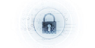 Cybersecurity and information or network protection. Future tech Stock Images