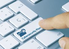 Cybersecurity Plan - Inscription on White Keyboard Key