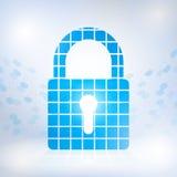 Cybersecurity und Informationsnetzschutz Lizenzfreie Stockbilder