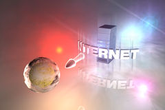 Cyberspace Stock Image