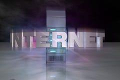 Cyberspace ilustración del vector