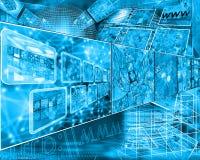 cyberspace Fotografia Stock