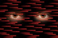 cyberspace royaltyfria bilder
