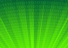 Cyberspace abstracto del fondo stock de ilustración