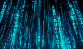 Cyberspace com aumentação digital, cidade digital imagens de stock royalty free