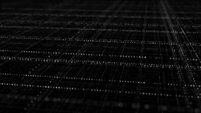 Cyberspace com multi grade mergulhada azul fotografia de stock royalty free