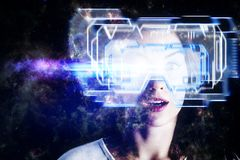 Cyberspace e conceito da tecnologia fotos de stock royalty free