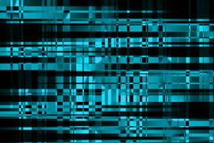 Cyberspace e redes informáticas Relação do computador do usuário Dados grandes que proceccing Ilustração abstrata moderna do puls ilustração royalty free