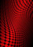 Cyberspace en rojo libre illustration