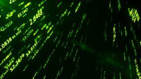 Cyberspace gegevens en netwerken - diverse verbindingswegen binnen een netwerk royalty-vrije illustratie
