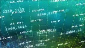 Cyberspace grid with longitude and latitude lines Stock Photos