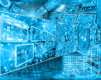 Cyberspace Stock Photography