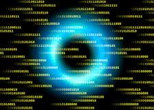 Cyberspace stock illustration