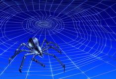 cyberspider webcrawling Стоковая Фотография RF