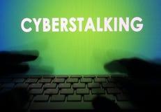 Cyberstalking. Stock Photos
