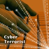 CyberterroristExtremism Hacking Alert 3d illustration vektor illustrationer