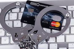 Cyberverbrechen Stockbilder