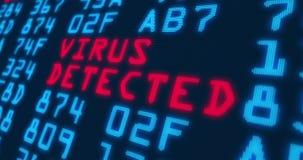 Cyberverbrechen- und -sicherheitsmodewörter stock abbildung