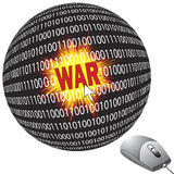 Cyberwar Imagens de Stock Royalty Free