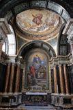 The Cybo Chapel in Church of Santa Maria del Popolo, Rome royalty free stock photo
