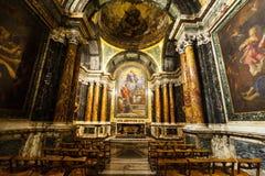Cybo Chapel, Santa Maria del Popolo Church. Rome. Italy Royalty Free Stock Image