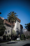 The Cybo Malaspina palace in Carrara Royalty Free Stock Images