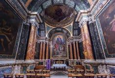 The Cybo or Saint Lawrence Chapel of Basilica of Santa Maria del stock photos