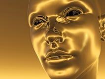 cyborg κεφάλι Στοκ εικόνα με δικαίωμα ελεύθερης χρήσης