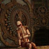 cyborg заботливый Стоковые Фотографии RF