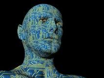 Cyborg royalty-vrije illustratie