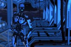 Cyborg Lizenzfreie Stockfotos