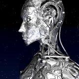 Cyborg illustration de vecteur