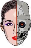cyborg стоковое фото