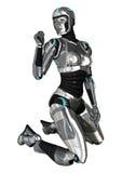 cyborg Obrazy Royalty Free