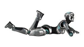 cyborg Fotografia de Stock Royalty Free