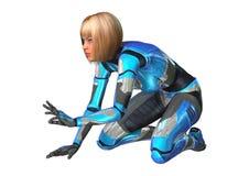 cyborg Royalty-vrije Stock Afbeelding