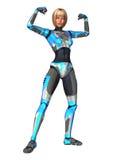 cyborg Royalty-vrije Stock Foto's