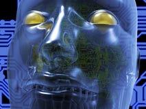 Τρισδιάστατη απόδοση πλασμάτων Cyborg Στοκ φωτογραφίες με δικαίωμα ελεύθερης χρήσης