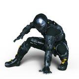 cyborg vector illustratie