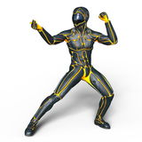 Cyborg Royalty Free Stock Photo