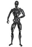 Cyborg. 3D rendered scifi cyborg on white background isolated Royalty Free Stock Image