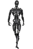 Cyborg. 3D rendered scifi cyborg on white background isolated Royalty Free Stock Images