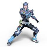 Cyborg di Femake Fotografie Stock