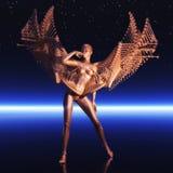Cyborg féminin Image libre de droits