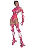 Cyborg féminin Photos stock